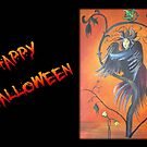 "Gamaun ""Happy Halloween"" - Greeting Card by taiche"
