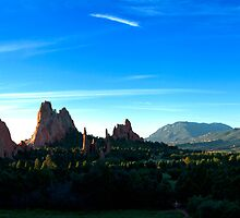 Garden of the Gods Panorama by PGornell