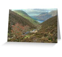 The High Stile Walk....Scale Beck Greeting Card