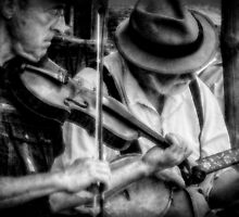 Bluegrass Players by Christine Annas