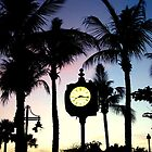 Sunset Times Square Fort Myers Beach, FL by Christine Sullivan