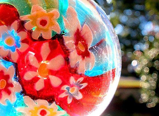 Kaleidoscope Colour Wheel by Marina Raspolich
