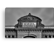 Wool Stores Canvas Print