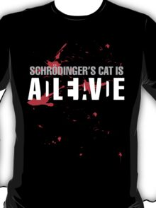 Schrödinger's Cat - Dark Colours T-Shirt