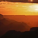 Desert View Sunset by Linda Sparks