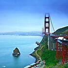 Golden Gate Bridge by cvrestan