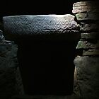 Burial Chamber in Fourknocks Passage Tomb, County Meath, Ireland by ArtsGirl2
