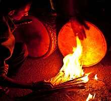 heating drums by Dinni H