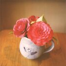 flowers in a jug by brenda mangalore