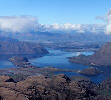 Lake Wanaka from Treble Cone by Charles Kosina