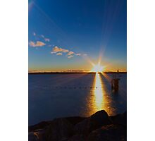 Rays of Gold Photographic Print