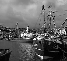 Stormy light, Brixham by StephenRB