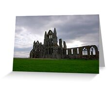 Whitby Abbey #4 Greeting Card