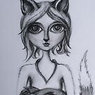 Foxy (Kitsune) by Thea T