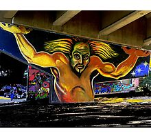 The Atlas of Chicano Park Photographic Print