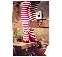 Socks and Camera Poster
