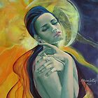 Impossible love - painting - Dorina Costras by dorina costras