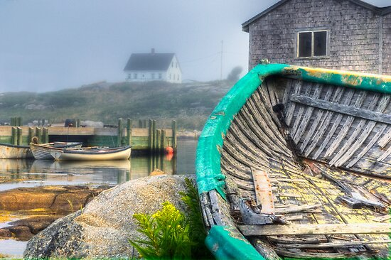 Dilapidated Dory by Bruce Taylor