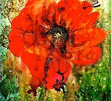 The Poppy Journals...The Butterfly and The Lizard.. by © Janis Zroback