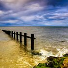Groyne at Rhyl by Adrian Evans