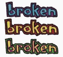broken blind multi logos by BrokenSk8boards