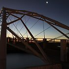 Evening Light - Marina Bridge, Exmouth WA Australia by cookieshotz