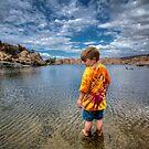 Tye Dye Glance by Bob Larson