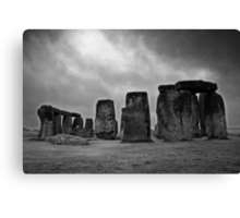 dark past Canvas Print