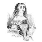 """""""Inesilla da Cantarilla"""" engraving after Gigoux, Gil Blas 1835 by OldeArte"""