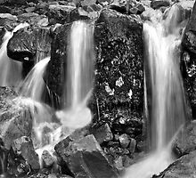Mini Waterfall at bottom of Sourmilk Ghyll by Phil-Edwards