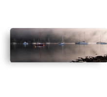 Clearing the fog from my eyes Canvas Print
