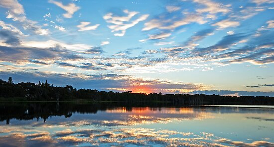 Lake Ainsworth - NSW Australia by Beth  Wode