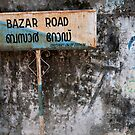 Bazar Road, Cochin by Syd Winer