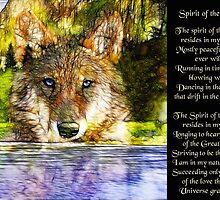 Spirit of the Wolf by saleire
