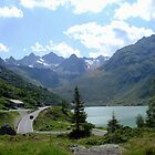 Silvretta Lake  by Ellanita