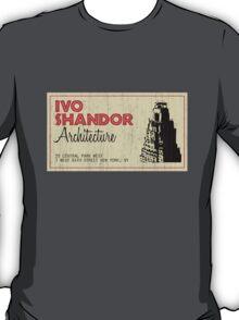 Ivo Shandor Architecture T-Shirt