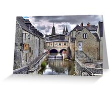 Bayeux Greeting Card