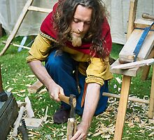 Woodworker by MariaVikerkaar