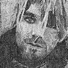 Kurt Cobain - 'Just because you're paranoid' by Richard Pattenden
