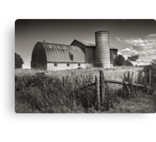 Old Homestead Road Canvas Print
