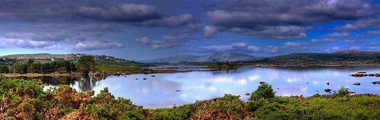 A Grand View - Connemara National Park, County Galway, Ireland by Mark Richards
