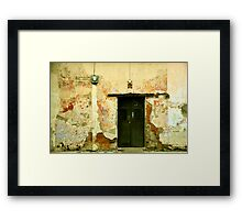 No one likes to be neglected... Framed Print