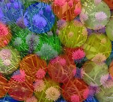 Chives... get out of those gumballs...!!!! by Debbie Robbins