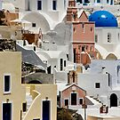 Santorini Morning by phil decocco