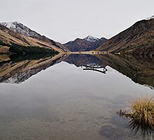 Moke Lake - Queenstown, NZ by Dean Mullin