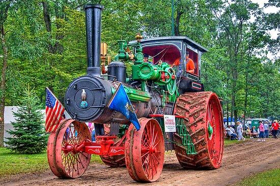 110 hp Case Steam Tractor by ECH52