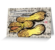 Peanuts in the Shell Greeting Card