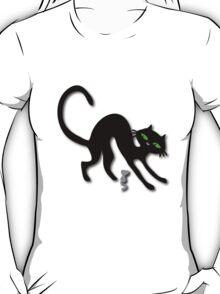 Peep show (s) off retro kitty cat! T-Shirt