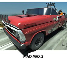 MAD MAX 2 F100 by Wayne Dowsent