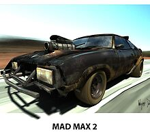 MAD MAX 2 INTERCEPTOR by Wayne Dowsent